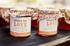 wedding favours jam