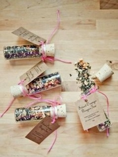 Wedding favours tea