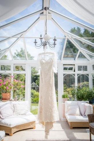 Juliet Poyser wedding dress
